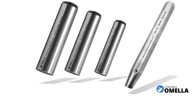 Punzón Personalizado para marcar a martillo tamaños estándar